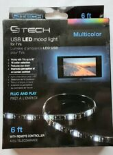 GTech USB LED Mood Light - 6 Ft - With Remote - 16 Color