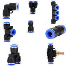 Pneumatik Steckverschraubung Steckverbinder Ventil Gelenk Adapter T Y Verbindung