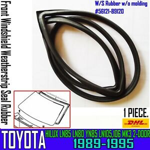 FOR TOYOTA 4RUNNER LN106 RN106 LN205 FRONT Windshield Weatherstrip Rubber Seal