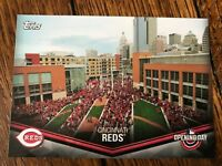 Cincinnati Reds 2018 Topps Opening Day Opening Day at the Ballpark Insert