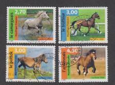 France -Timbres oblitérés - Chevaux - N°3182 à 3185 - 1998 -TB
