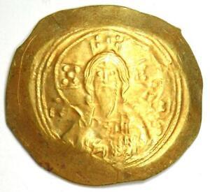 Michael VII Ducas AV Gold Histamenon Nomisma Christ Coin 1071-78 AD - VF / XF