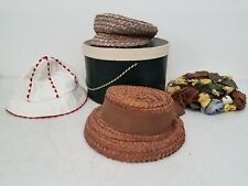 New listing Lot of 4x Vintage Women's Hats Km