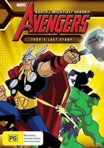 Avengers Thor's Last Stand DVD Marvel Comics
