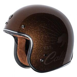 T50 Torc 3/4 Open Face Motorcycle Scooter Helmet DOT Cafe Racer Retro Vintage