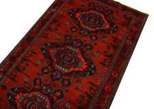 Caucasien TAPIS AZERBAÏDJAN 207x121 cm 100% laine noué à la main rouge