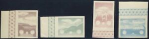 GERMANY. CROATIA. 1942. THIRD REICH, Aviation, Airmail proof set !