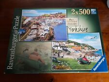Ravensburger 2 X 500 PIECE JIGSAW PUZZLES Yorkshire Picturesque Landscapes No 1