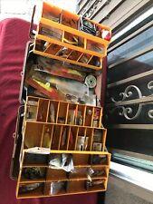 Fenwick Model 5.6 Fishing Tackle Box With Lots Of Stuff Inside!!!