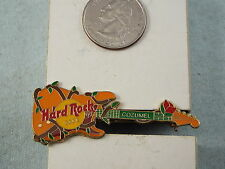 HARD ROCK CAFE LAPEL PIN COZUMEL GUITAR