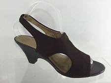Joan & David Womens Brown Sandals 9.5 M