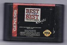 Sega Genesis Best of the Best Championship Karate vintage game Cart