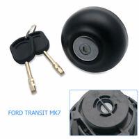 LOCKING DIESEL FUEL CAP INCLUDING & 2 KEYS For FORD TRANSIT MK7 2006 ON