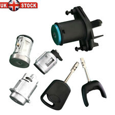IGNITION BARREL & BOOT DOOR LOCK SET WITH 2 KEYS FOR FORD FIESTA MK5 / FUSION