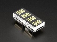 """Adafruit 0.54"""" Quad Alphanumeric FeatherWing Display - White [ADA3127]"""