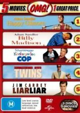 Billy Madison Happy Gilmore Kindergarten Cop Liar Liar Twins 5 Movies 3