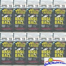 (10) 2017 Topps Heritage High Number Baseball EXCLUSIVE Jumbo Fat Packs-160 Card