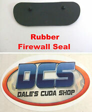 1971 1972 1973 1974 Charger road runner GTX Firewall Drain Seal USA Made MoPar
