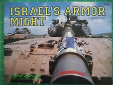 Israel's Armor Might  - Tanks - Concord Publications #1001