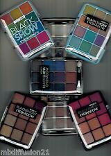 PALETTE 12 COULEURS - FARD.OMBRE A PAUPIERES - EYESHADOW - 9 MODELES...MODELITE