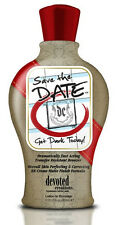Save The Date Tanning Bed Lotion w/ Fast Acting Bronzer by Devoted Creations