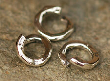 TWO Sterling Silver Number 268 Jump Ring