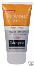 Neutrogena Visibly Clear 2-in-1 Wash Mask Help Reduce Spots Unclog Pores