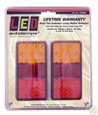 PAIR LED LIGHTS TRAILER BOAT UTE TRUCK FLOAT 150BAR
