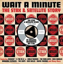 WAIT A MINUTE - THE STAX & SATELLITE STORY 1959-1962 (NEW SEALED 2CD)
