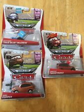 DISNEY PIXAR CARS Racing Sports Network Matthew McCrew Timothy Twostroke Cora