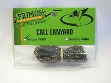 Primos Single Call Lanyard Adjustable #605 Duck Goose Hunting New