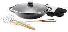 Induktionsfähige woks aus Aluminium