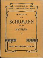 Taschenpartitur: SCHUMANN - Manfred Op. 115