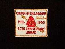 BOY SCOUT  ORDER OF THE ARROW  50TH ANNIV  AWARD