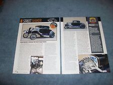 1930 Ford Model 5-Window Coupe Retro-Style Gasser Article