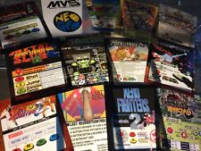 10 Neo Geo Mini Arcade Marquees Of Your Choosing