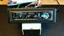 RARE VINTAGE KENWOOD MASK CAR RADIO CD PLAYER KDC 7021