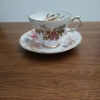 Rosina Tea Cup and Saucer Bone China made in England 4867