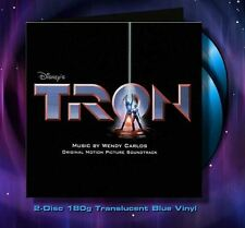 Tron - 2 x LP Complete Score - Limited Edition - Blue Vinyl - OOP - Wendy Carlos