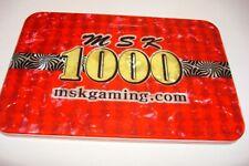 $ 1000 MSK SAMPLE POKER CASINO PLAQUE  MINT