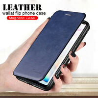 For Huawei P40 Pro P30 Lite P Smart Z Flip Magnetic Leather Wallet Case Cover