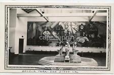 Surreal Abstract Photo Statue & Mural Balboa Park SAN DIEGO CA Vtg 1930s Photo