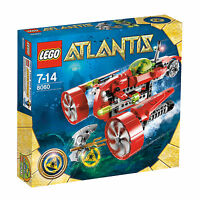 LEGO Atlantis 8060 Turbojet !!!NEU &OVP!!! itseasy24