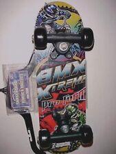 """Skateboard Planche à Roulette Mini BMX Xtreme Pro Form 17"""" x 5"""" New"""