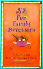 NEW - 52 Fun Family Devotions: Exploring and Discovering God's Word