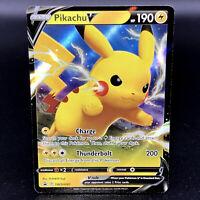 Pikachu V - SWSH061- Black Star Promo - Rare Pokemon Card