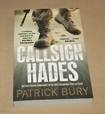 Callsign Hades   by Patrick Bury : Biography/Afghanistan