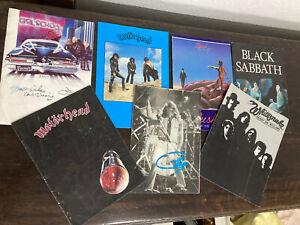 Collection Of 80's Rock Tour Programmes Motorhead Black Sabbath Whitesnake