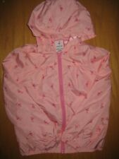 NWT Gymboree Fruit Punch size 7-8 Pink Flamingo Windbreaker Jacket Coat