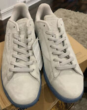 Reebok Mens Classic NPC UK Perf Flat Grey Suede Leather Shoes Size 11 New